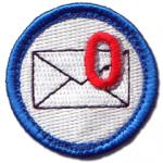 Nerd Merit Badge for Inbox Zero