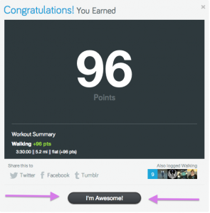 You're awesome, too, Fitocracy!