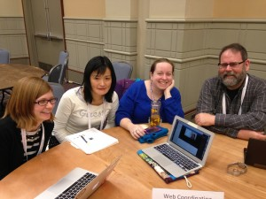 The LITA WCC Committee, some attendees on Skype