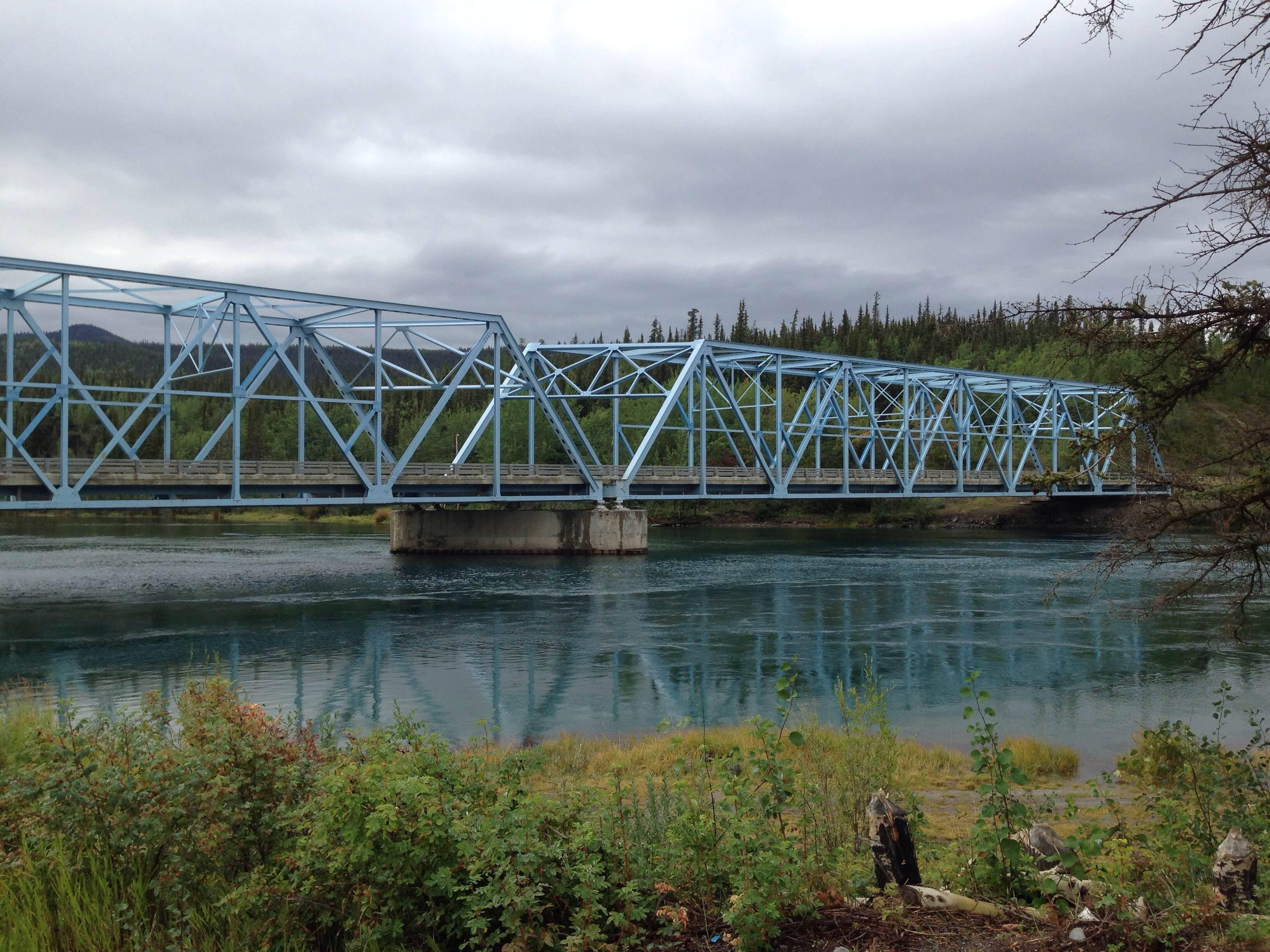 Bridge over the Yukon River